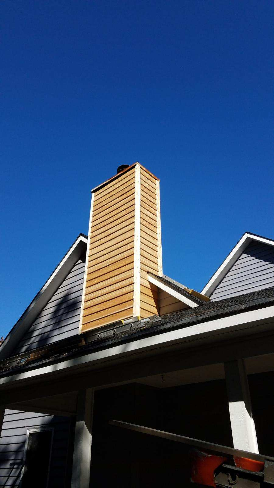 Fifth picture of chimney repair
